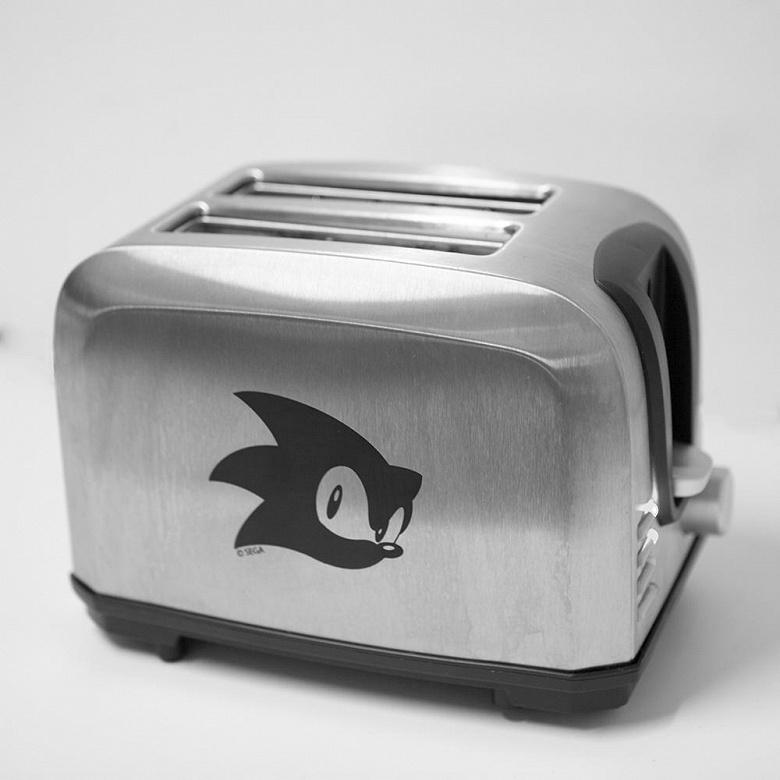 Sega выпустит тостер в честь легендарного персонажа Sonic the Hedgehog