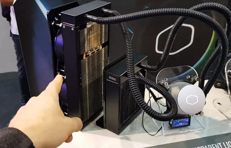 Cooler Master оснащает блок питания встроенным дисплеем