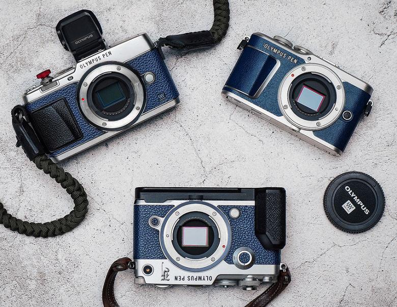 Камера Olympus PEN-F тоже будет выпущена в варианте для любителей джинсов