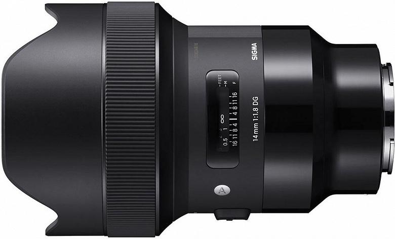 Назван срок начала поставок объективов Sigma 14mm F1.8 DG HSM   Art и Sigma 135mm F1.8 DG HSM   Art с креплением Sony E
