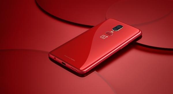 Смартфон OnePlus 6 Amber Red