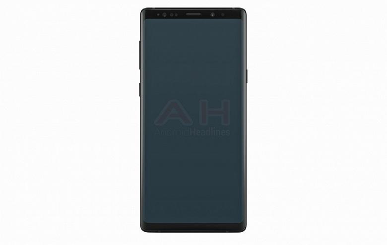 Появился «официальный» рендер смартфона Samsung Galaxy Note 9