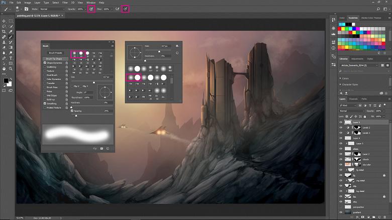 Adobe планирует выпустить полную версию Photoshop для Apple iPad