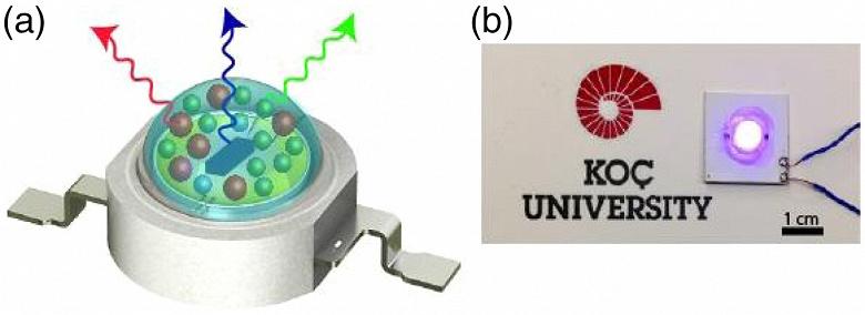 Светоотдачу белых светодиодов на квантовых точках довели до 105 лм/Вт