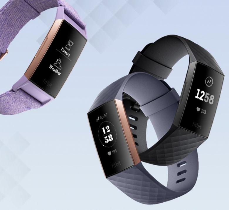 Трекер активности Fitbit Charge 3 работает без подзарядки до семи дней