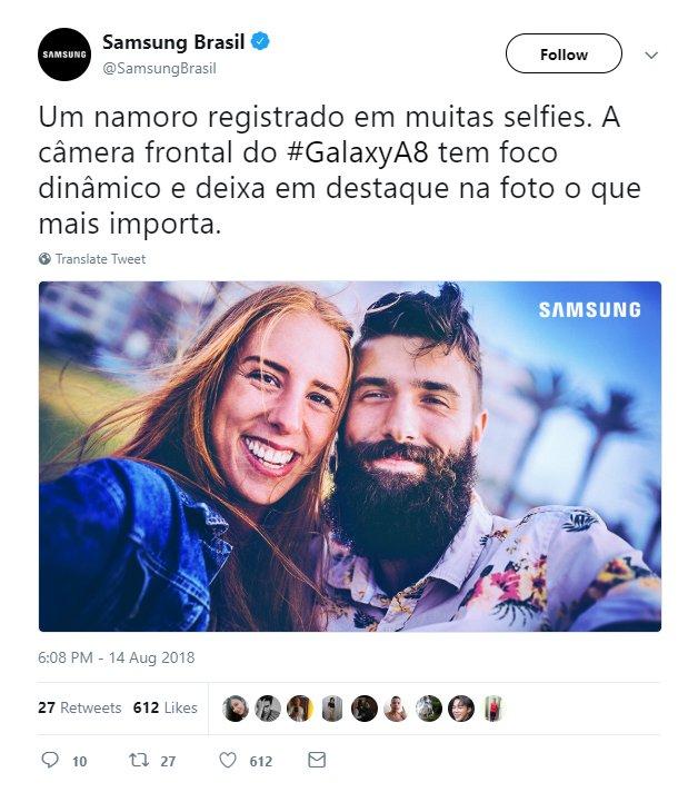 Samsung выдавала стоковое фото, сделанное на профессиональную камеру, за фото с камеры Samsung Galaxy A8 (2018)