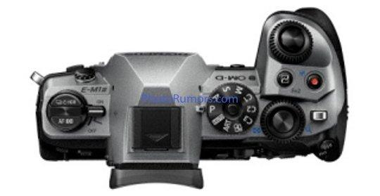 Olympus-OM-D-E-M1-Mark-II-MFT-camera-sil