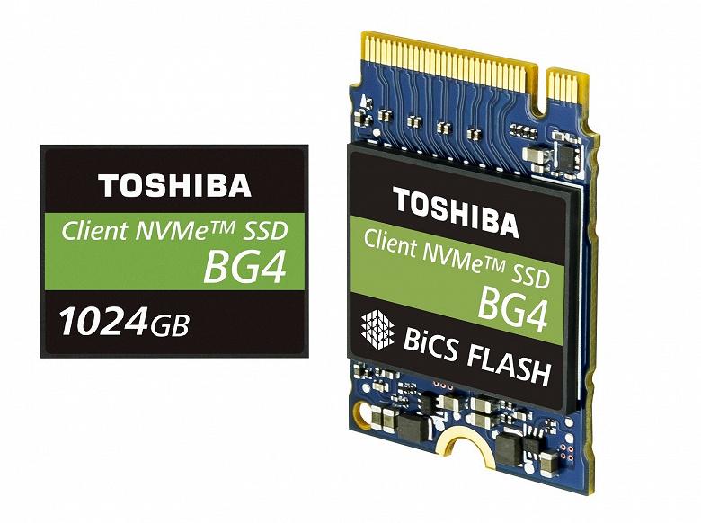 TOSHIBA_MEMORY_single_package_SSD_BG4ser