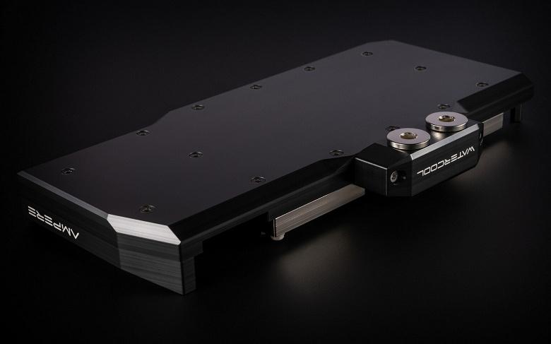 У Watercool готовы водоблоки для видеокарт Nvidia GeForce RTX 3080 и 3090