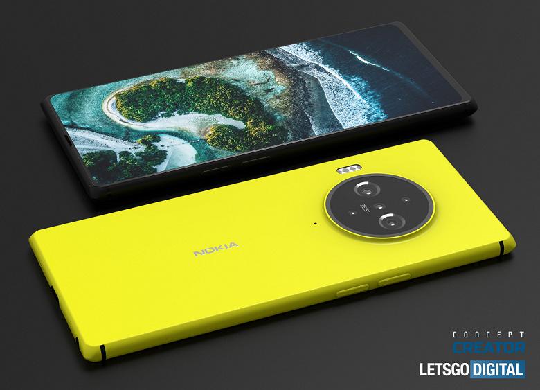 Флагман Nokia 9.3 PureView с подэкранной камерой впервые предстал на качественных неофициальных изображениях