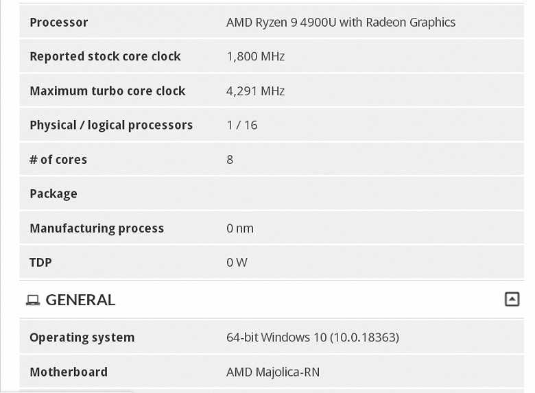 Держись, Intel. У AMD припасён козырь в рукаве в виде мобильного процессора Ryzen 9 4900U