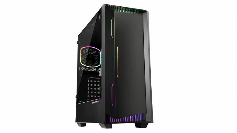 Корпус Enermax libllusion LL30 RGB оснащен шестиканальным концентратором адресуемой подсветки