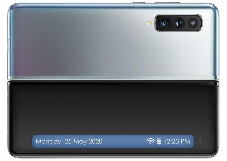 Смартфон Samsung Galaxy Fold 2 будет водонепроницаемым и получит длинный внешний дисплей