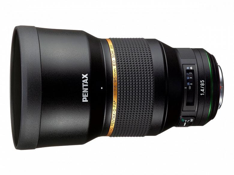 Полнокадровый объектив HD Pentax-D FA* 85mm F1.4ED SDM AW оценен в 1899 долларов