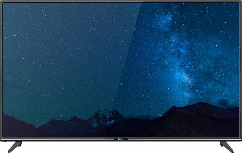 В продажу поступили российские ультрабюджетные телевизоры Blackton