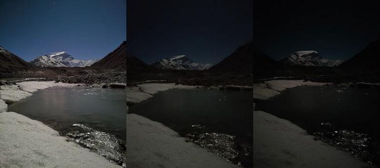 Качественная картинка с Эвереста в экстремальных условиях. Первые фото на камеру Honor X10