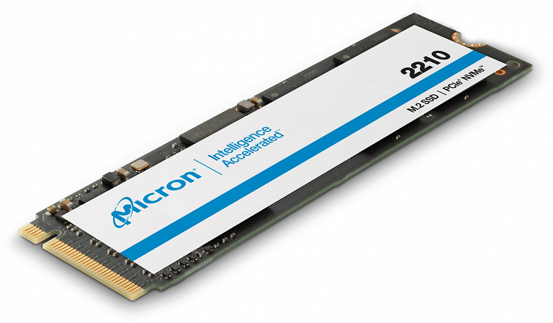 Micron использует в SSD 2210 флеш-память QLC NAND
