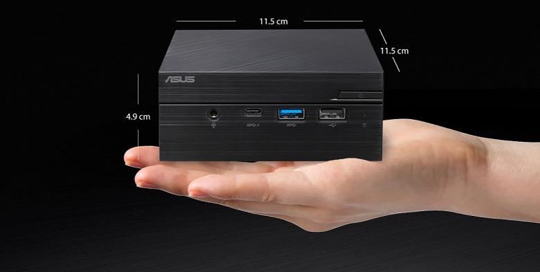 Asus PN50 — очень компактный мини-ПК на самых мощных 15-ваттных процессорах Ryzen 4000