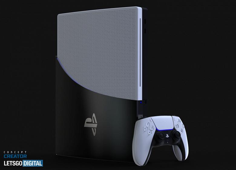 Последние фантазии на тему дизайна PlayStation 5 перед конференцией Sony