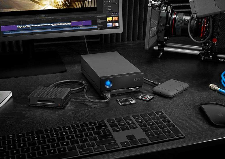 Представлены настольные хранилища LaCie 1big Dock SSD Pro и LaCie 1big Dock