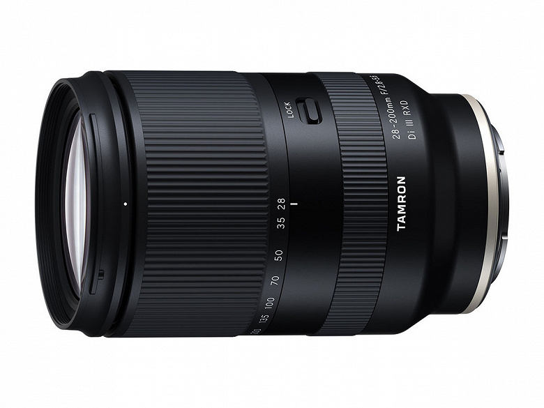 Представлен полнокадровый объектив Tamron 28-200mm F/2.8-5.6 Di III RXD (Model A071) с креплением Sony E