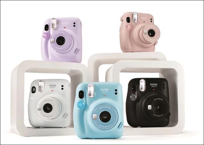 Fujifilm представила камеру мгновенной печати Instax Mini 11 за $79