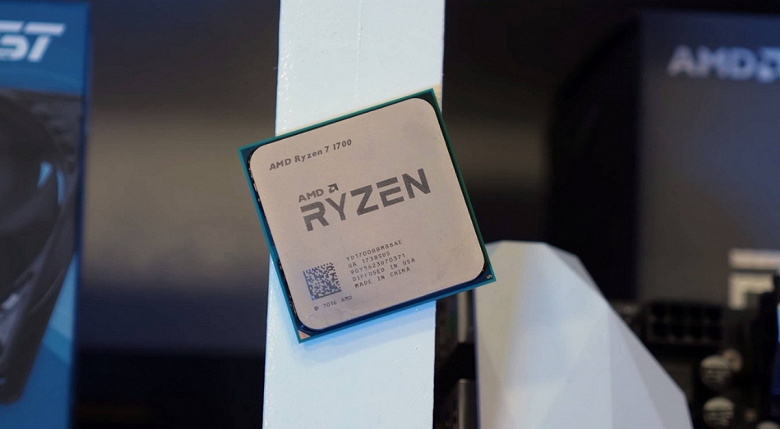 Наглядный пример невероятного достижения AMD: восьмиядерный Ryzen 7 1700 с треском проиграл четырёхъядерному Ryzen 3 3300X