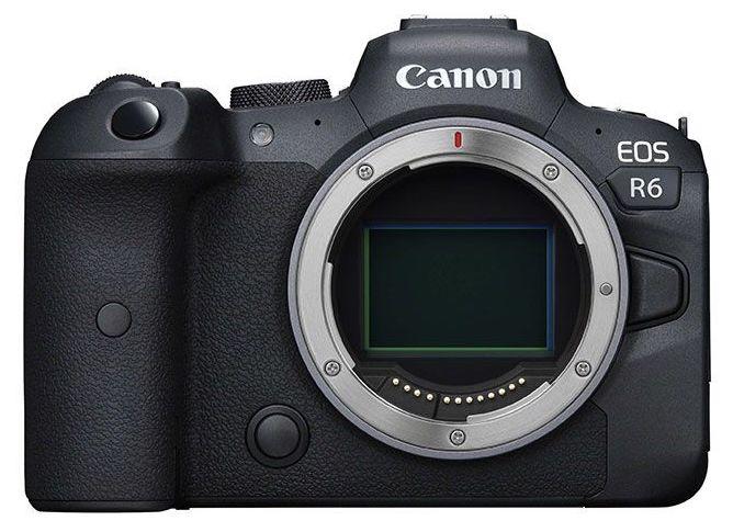 Появились первые изображения беззеркальной камеры Canon EOS R6