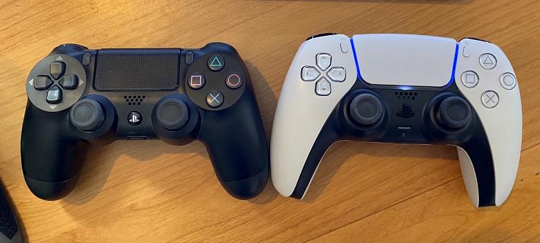Геймпад DualShock 4 для PlayStation 4 сравнили с DualSense для PlayStation 5