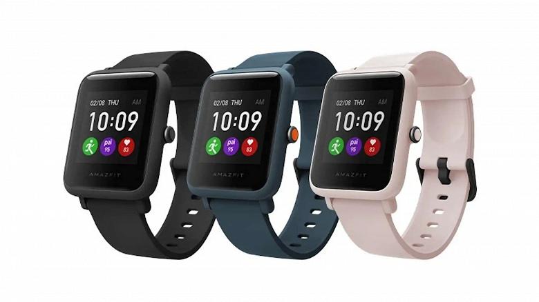 50-долларовые умные часы Amazfit Bip S Lite поступили в продажу