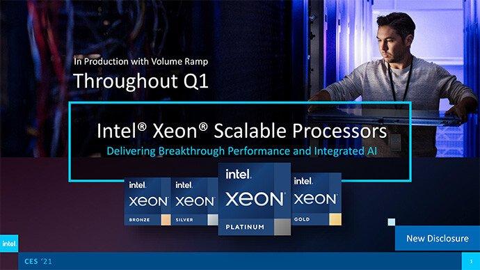 Только настольный сегмент Intel оставит без 10-нанометровых CPU. Компания наращивает производство новых серверных Xeon Scalable