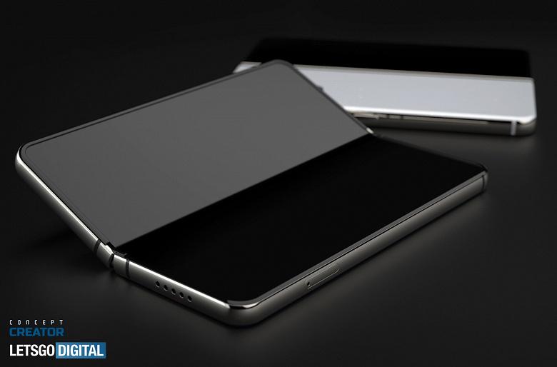 Красивая визуализация Samsung Galaxy Z Fold 3 со стилусом S Pen за несколько месяцев до анонса