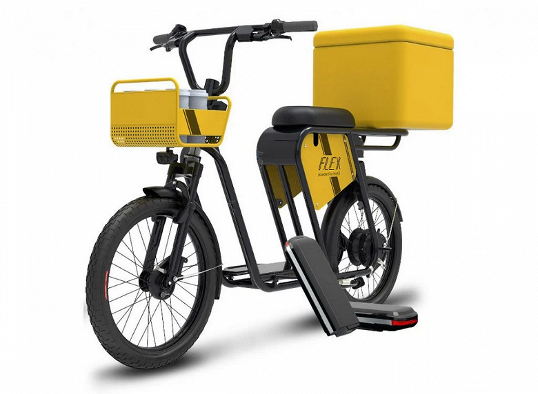 120 км, 25 км/ч и 40 кг груза. Представлен электрический велосипед Smartron Tbike Flex