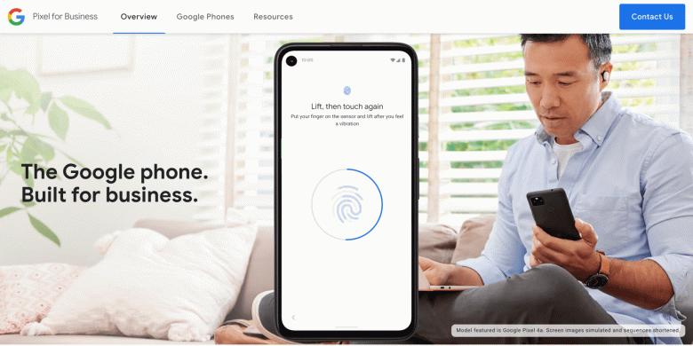 Google Phone  так называет смартфоны Pixel сам производитель