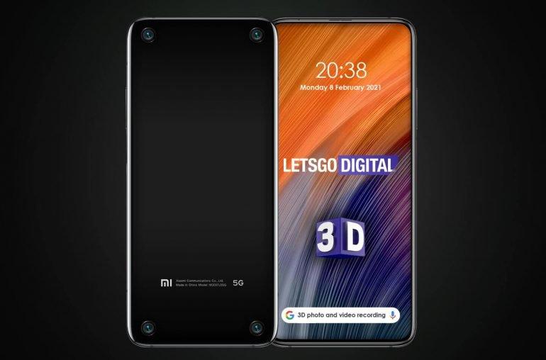 Мода на 3D возвращается Смартфон Xiaomi четырьмя угловыми камерами
