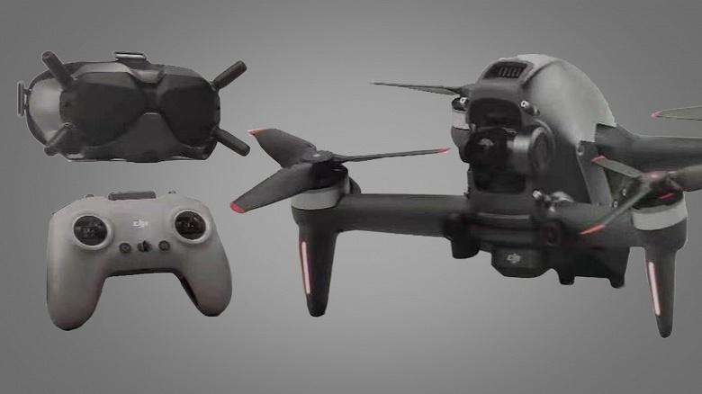 Опубликованы видео с гоночного дрона DJI FPV и характеристики устройства