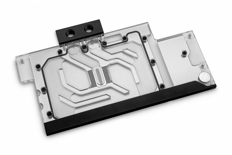 Водоблок EK-Classic GPU Water Block Strix RTX 3080/3090 D-RGB совместим с четырьмя моделями видеокарт производства Asus