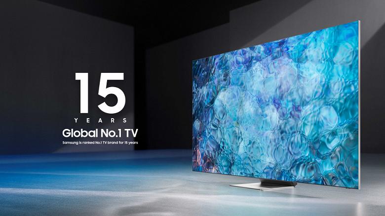 Samsung  1 на рынке телевизоров уже полтора десятилетия