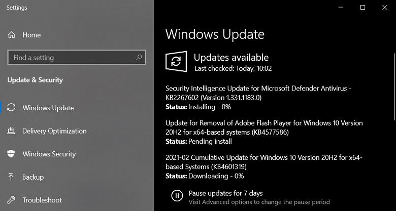 Microsoft начала удалять Flash из Windows 10 в обязательном порядке