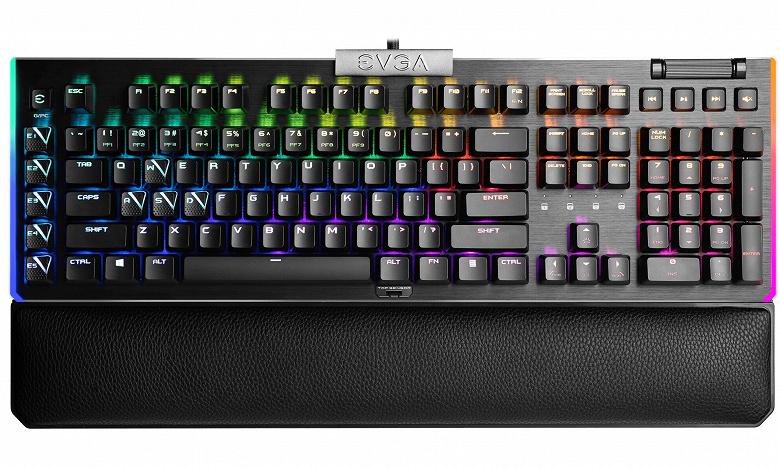 Представлены игровые клавиатуры EVGA Z15 и Z20