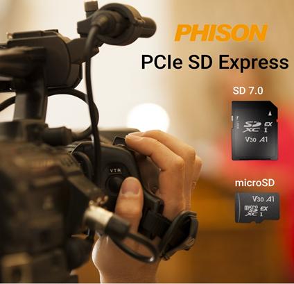 Компания Phison первой выпускает карты памяти SD Express (SD 7.0)