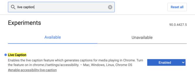 Изначальный эксклюзив Android 10 добрался до ПК. В Google Chrome доступны Автоматические субтитры
