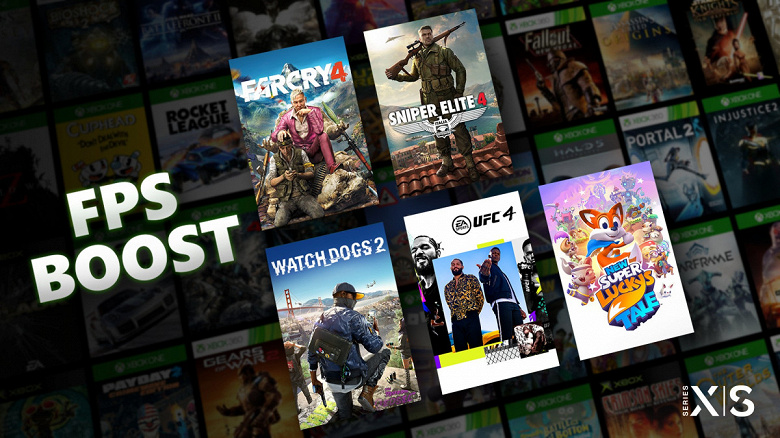 До 120 к/с в старых играх: Microsoft запустила FPS Boost для Xbox Series XS