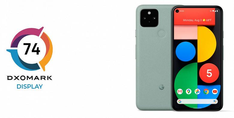 Google Pixel 5 получил разочаровывающий экран