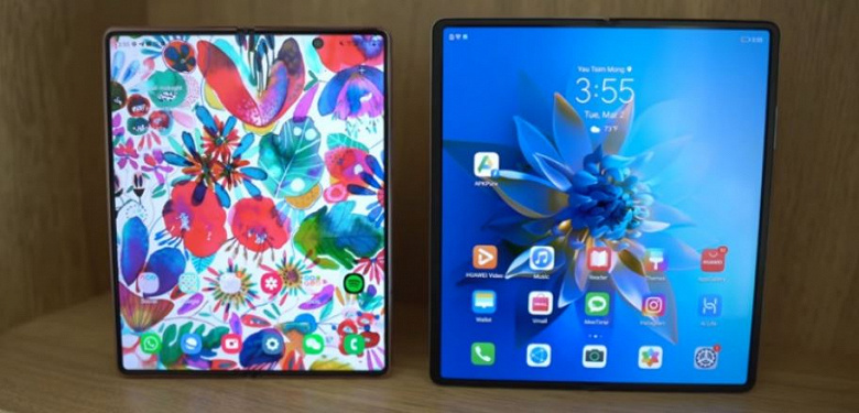 Смартфон за 2000 долларов против модели за 2800 долларов. Блогер сравнил Samsung Galaxy Z Fold 2 и Huawei Mate X2, и сделал неожиданный вывод