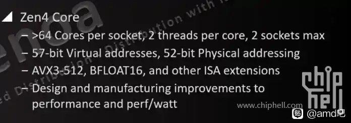 Микроархитектура AMD Zen 4 будет поддерживать команды AVX-512