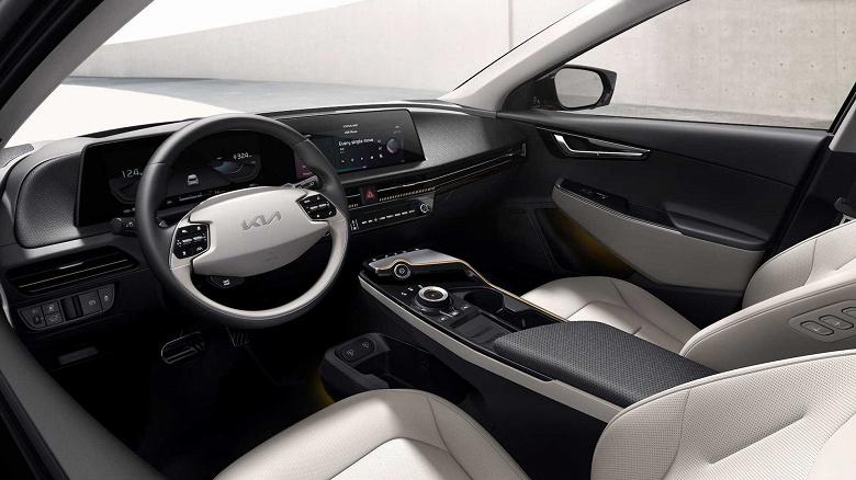Представлен электромобиль Kia EV6