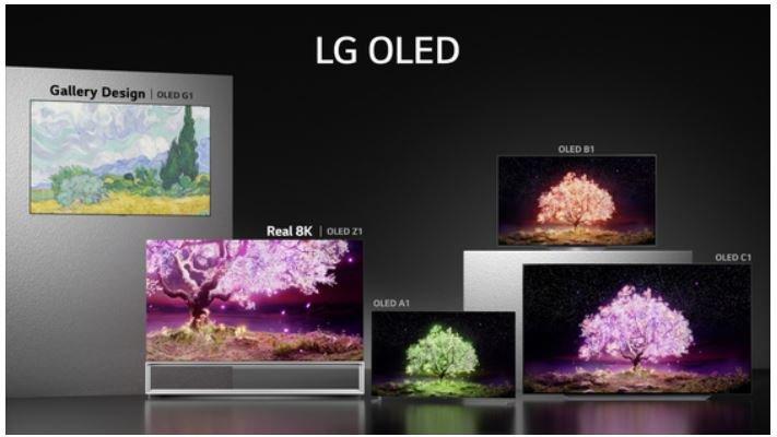 LG впервые удалось за год продать более 2 млн телевизоров OLED