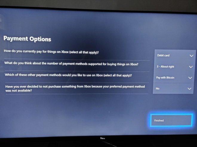 Microsoft изучает возможность оплаты игр для Xbox биткойнами