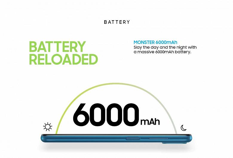 Монстр автономности Samsung Galaxy M12 припас ещё один сюрприз  это 90-герцевый экран